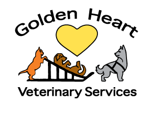 Logo for Golden Heart Veterinary Services in Fairbanks, AK