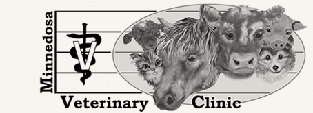 Logo for Minnedosa Veterinary Clinic | Minnedosa, Manitoba